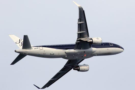 7G/SFJ/スターフライヤー 7G27  A320 JA27MC