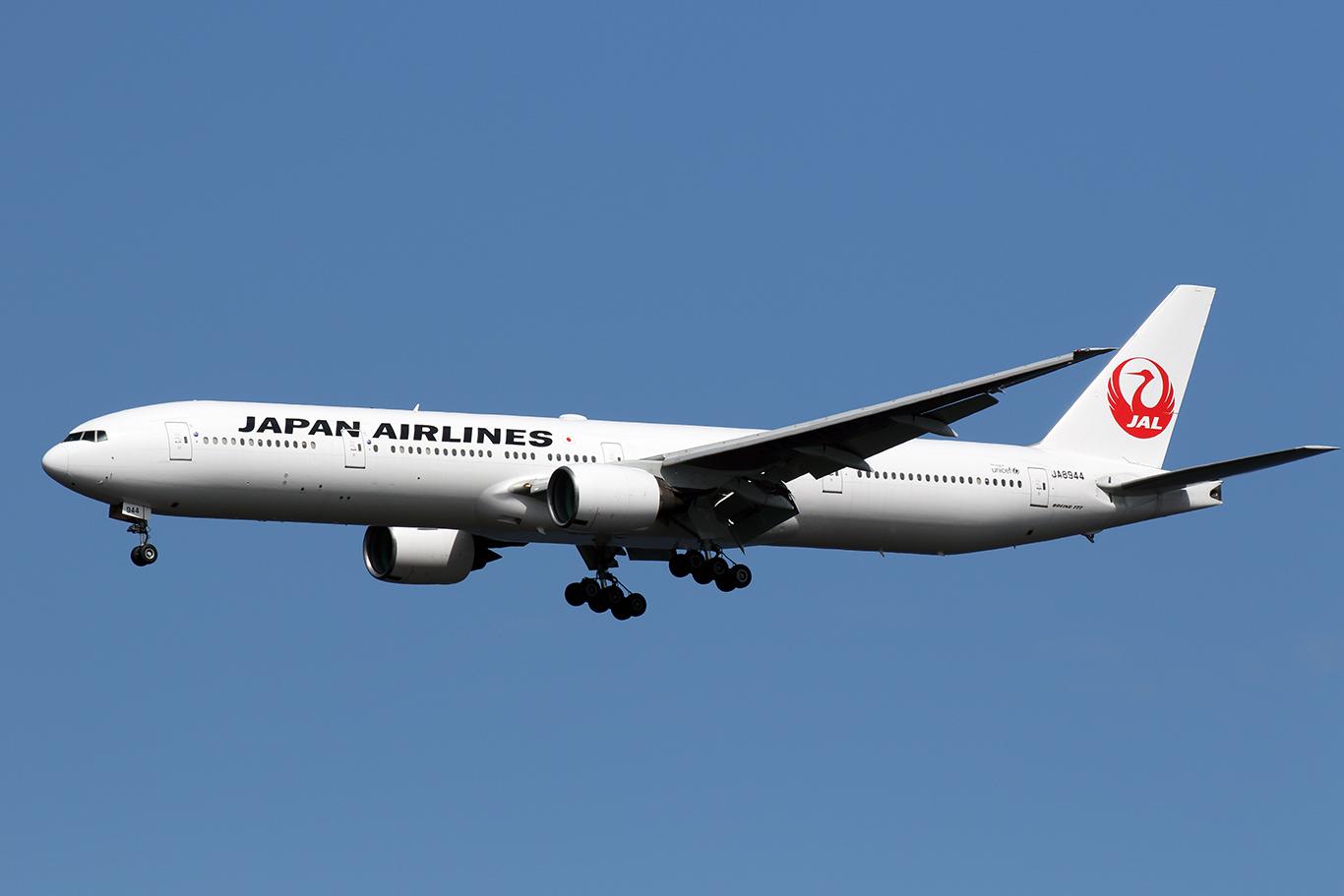 JL/JAL/日本航空 JL906 B777-300 JA8944