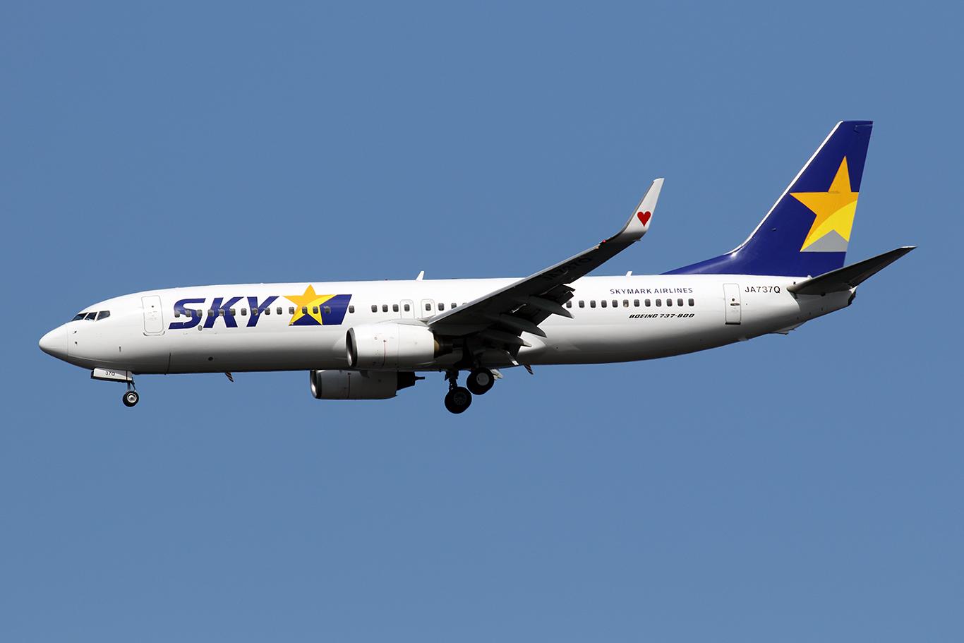 BC/SKY/スカイマーク BC714 B737-800 JA737Q
