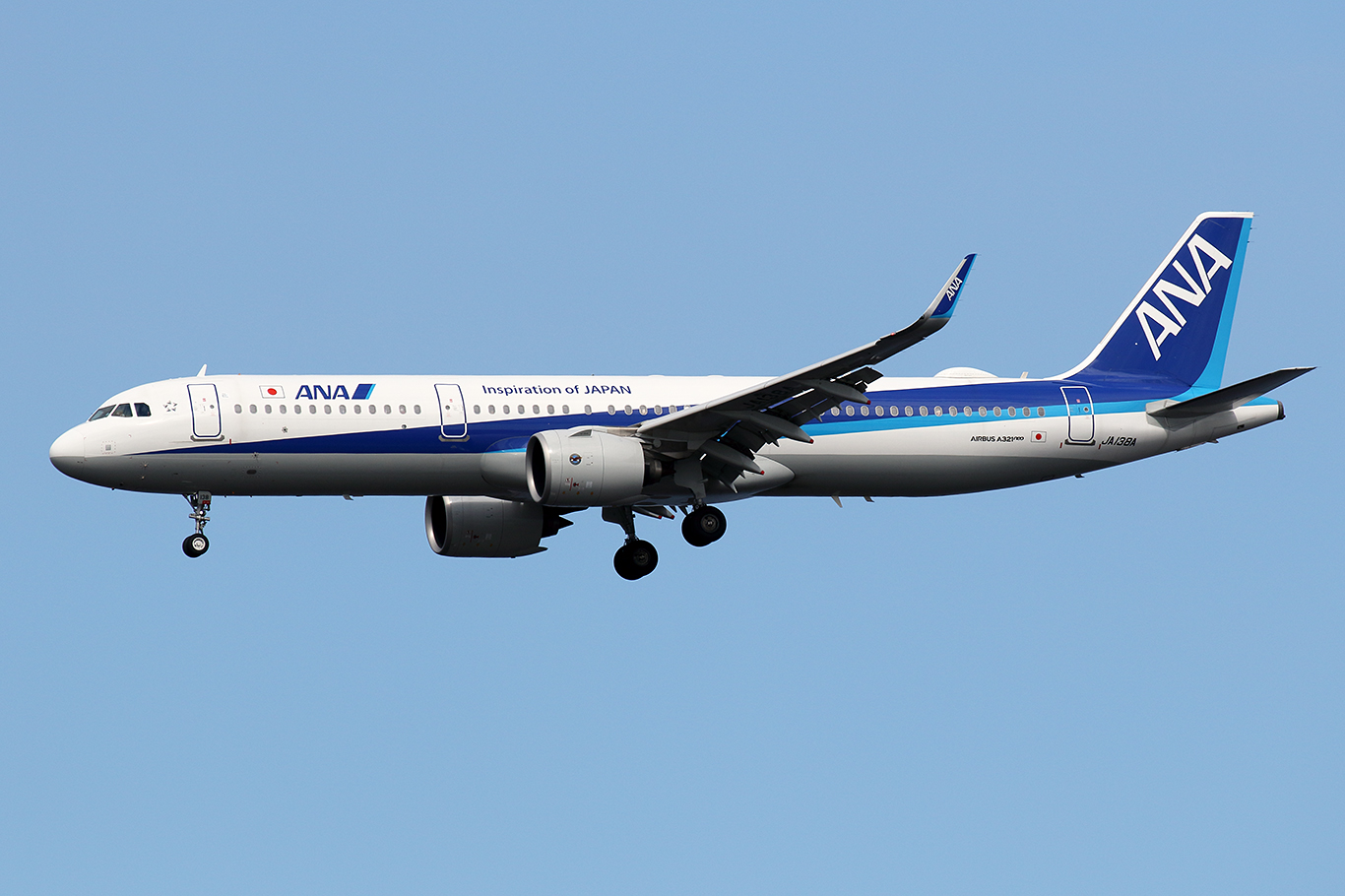 NH/ANA/全日空 NH666 A321Neo JA138A