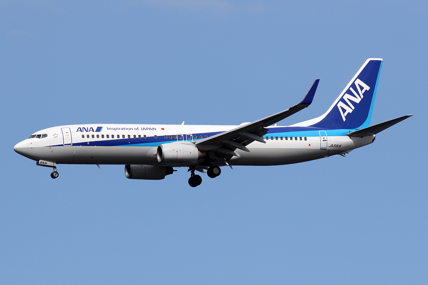 NH/ANA/全日空 NH656 B737-800 JA61AN