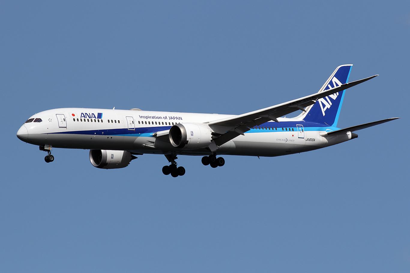 NH/ANA/全日空 NH996 B787-9 JA830A