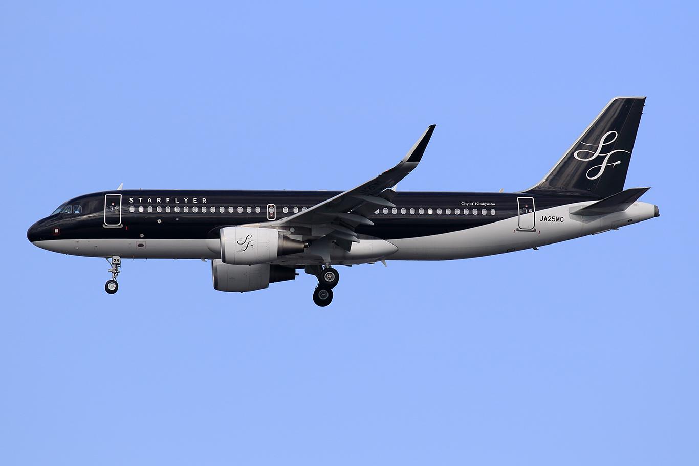 7G/SFJ/スターフライヤー 7G48 A320 JA25MC