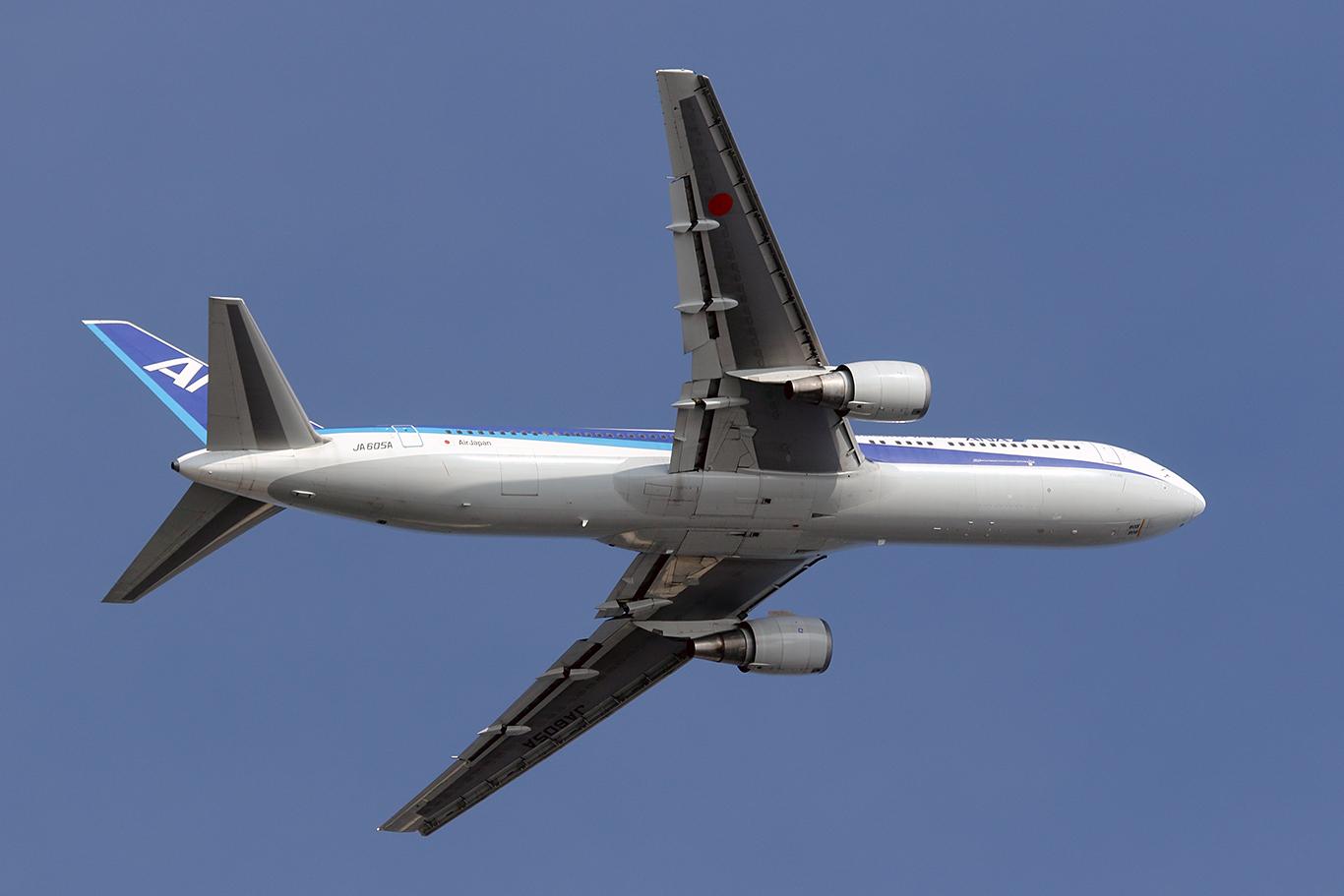 NH/ANA/全日空 NH33 B767-300ER JA605A