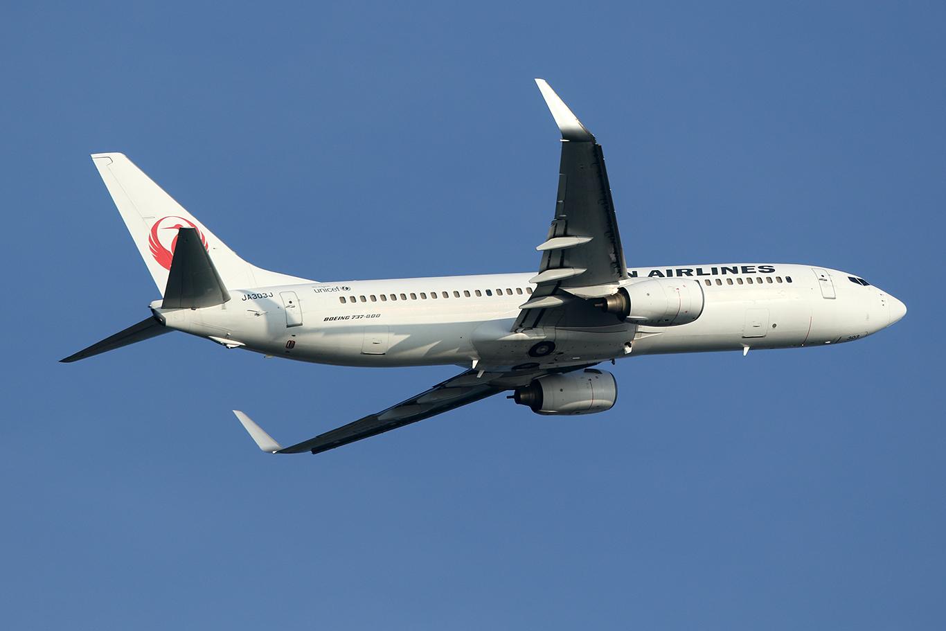 JL/JAL/日本航空 JL497 B737-800 JA303J