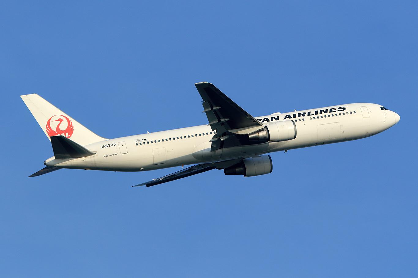 JL/JAL/日本航空 JL923 B767-300ER JA623J