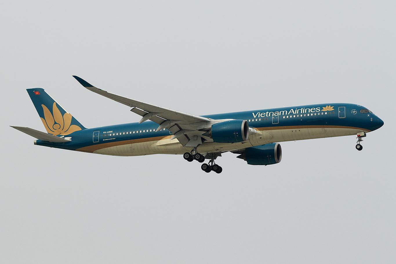 VN/HVN/ベトナム航空 VN300 A350-900 VN-A886