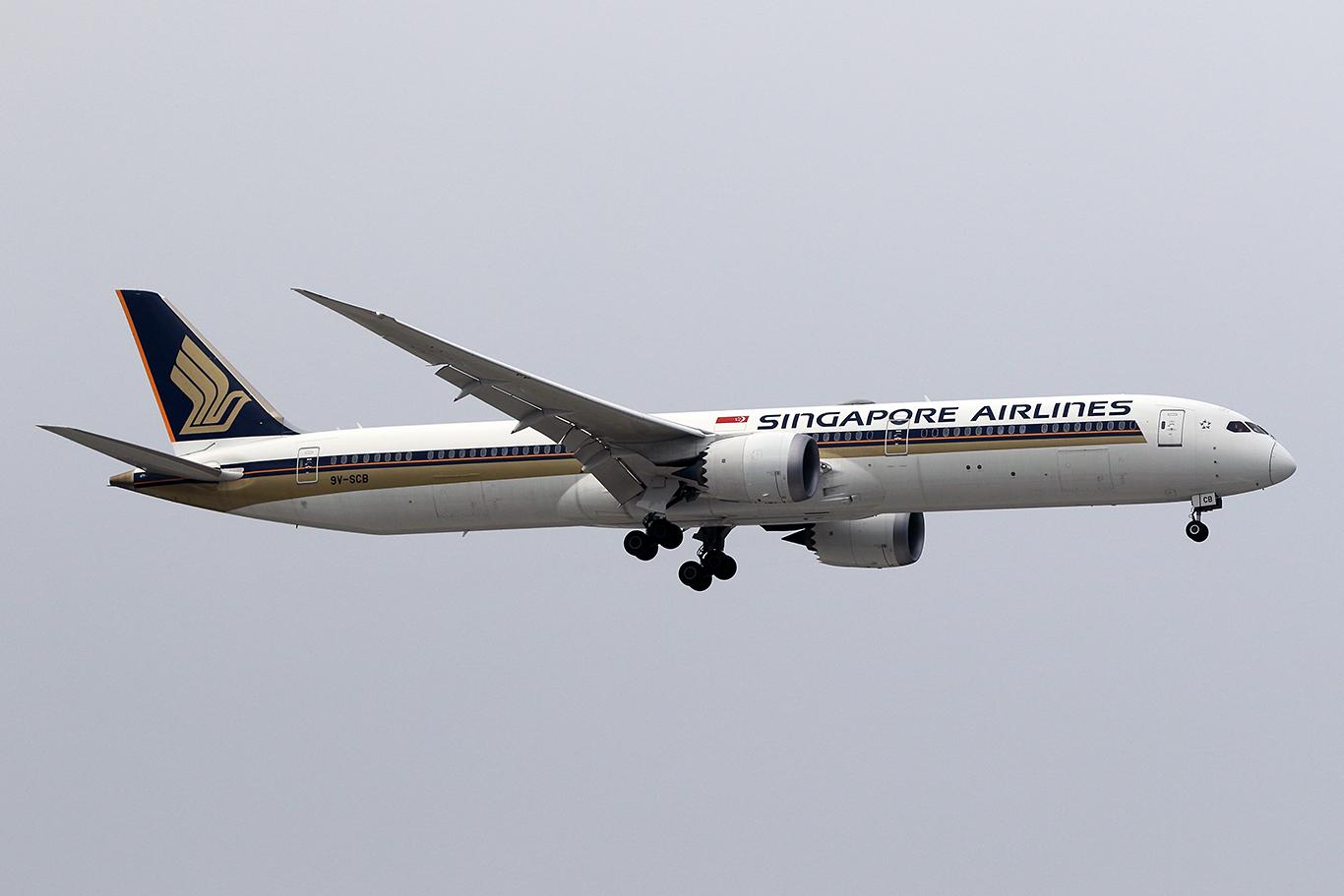 SQ/SIA/シンガポール航空 B787-10 9V-SCB