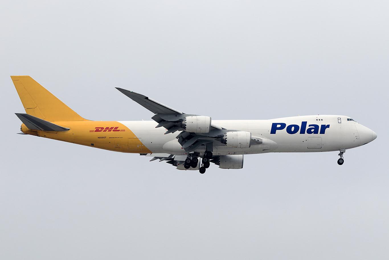 PO/PAC/ポーラエアカーゴ PO213 B747-8F N858GT