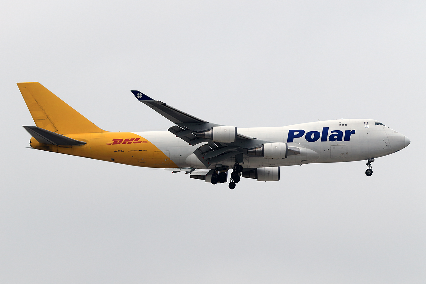 PO/PAC/ポーラエアカーゴ PO964 B747-400F N452PA