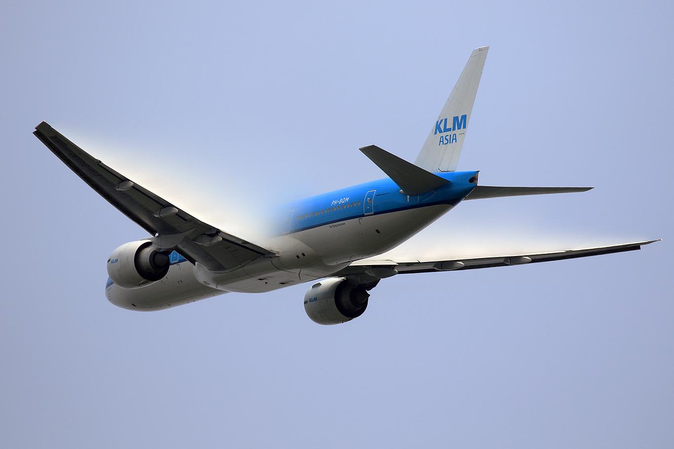 KL/KLM/KLMオランダ航空 KL862 B777-200ER PH-BQM