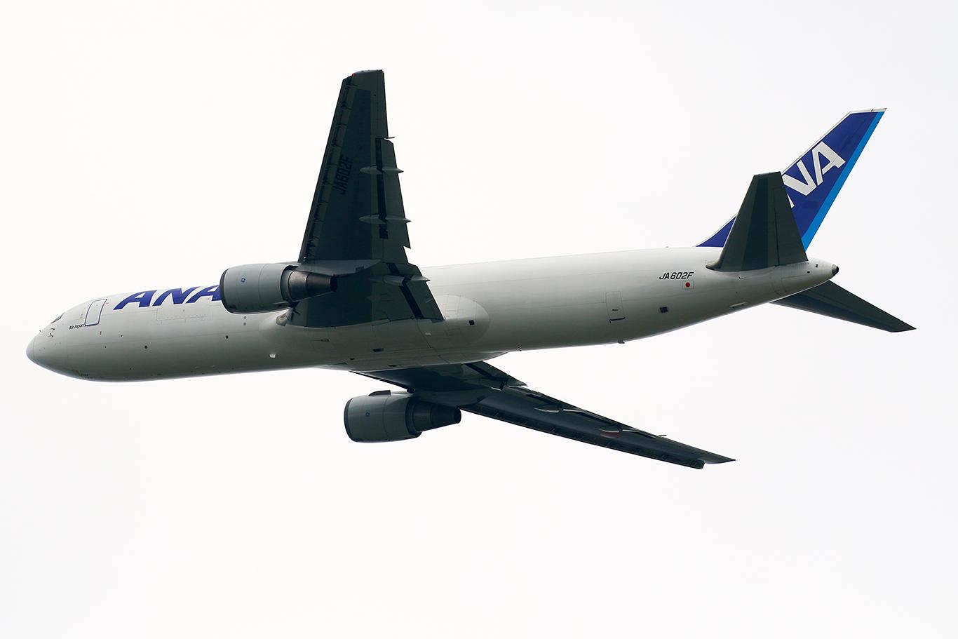 NH/ANA/全日空 NH8539 B767-300ERF JA602F
