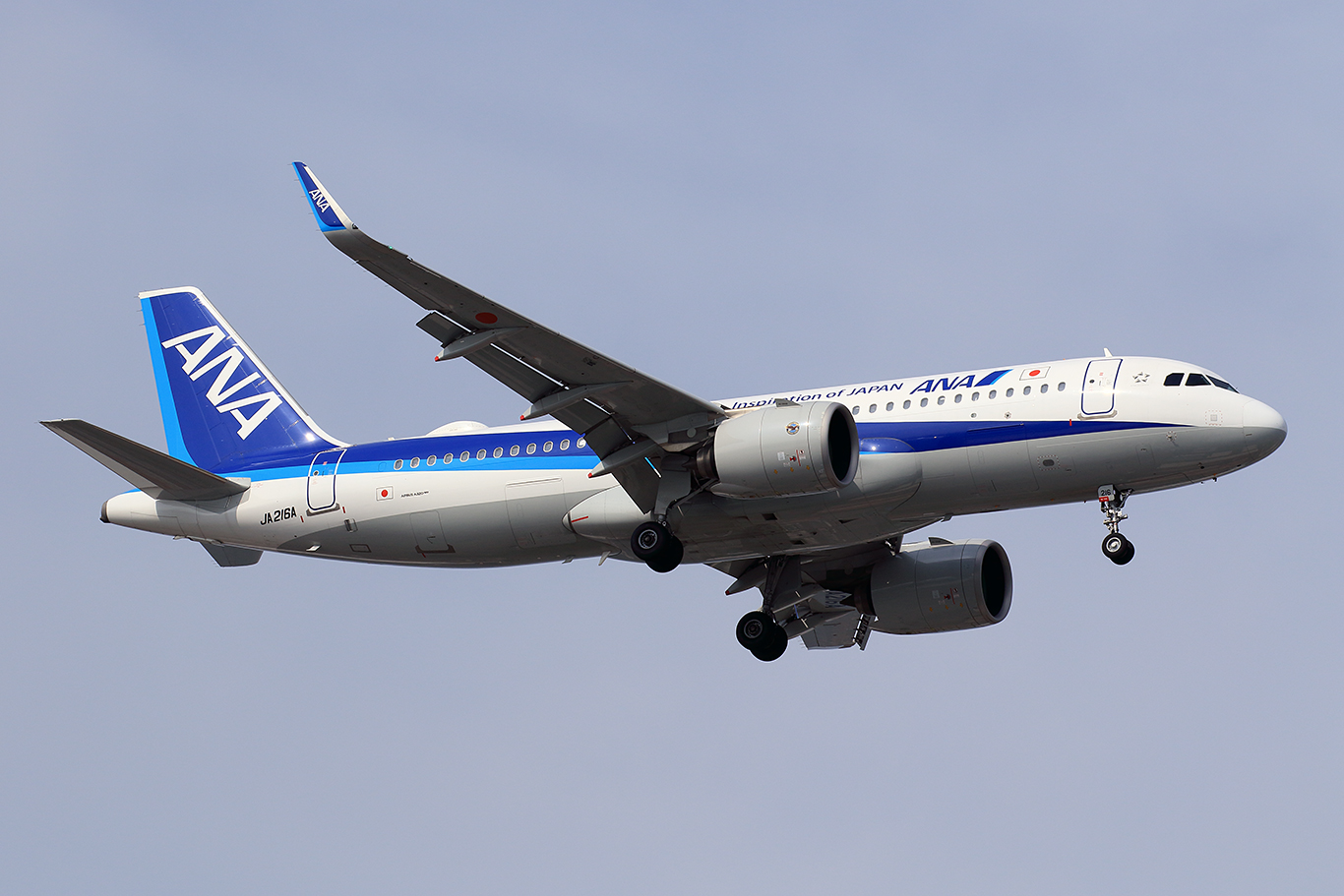 NH/ANA/全日空 NH656 A320Neo JA216A