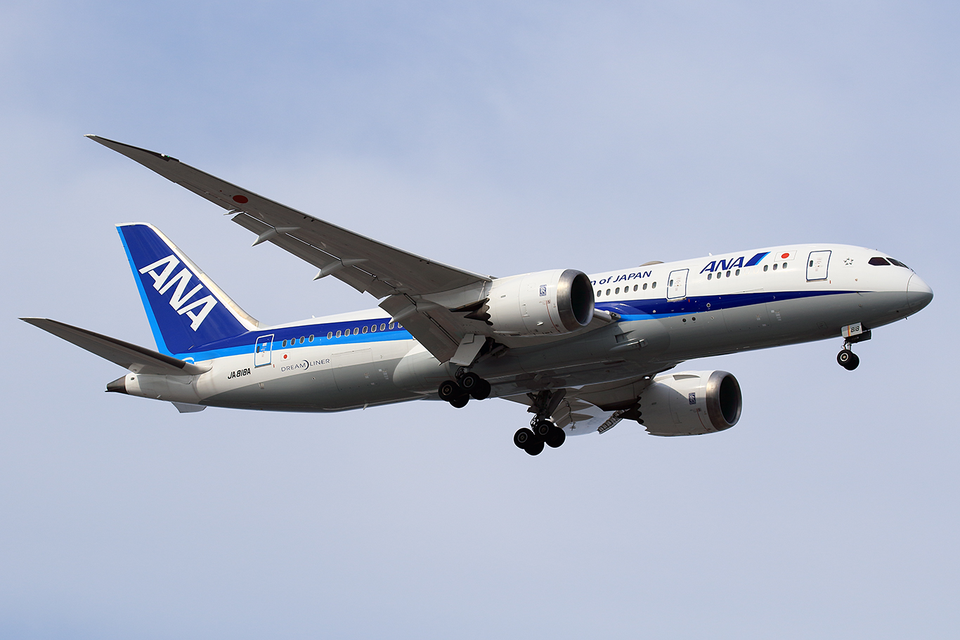 NH/ANA/全日空 NH1096 B787-8 JA818A