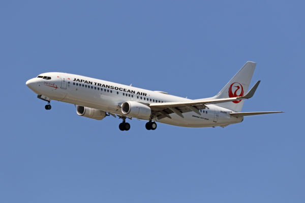 NU/JTA/日本トランスオーシャン航空 NU70 B737-800 JA12RK