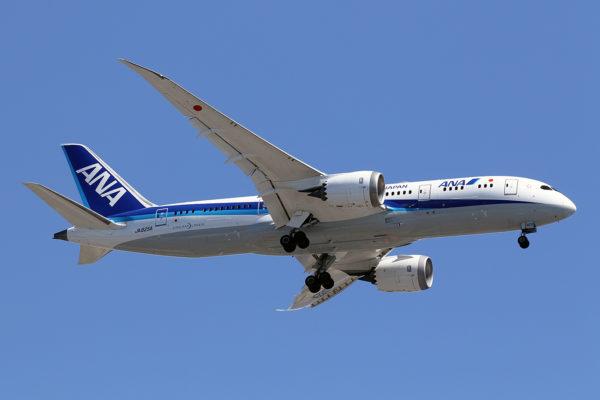 NH/ANA/全日空 NH252 B787-8 JA825A