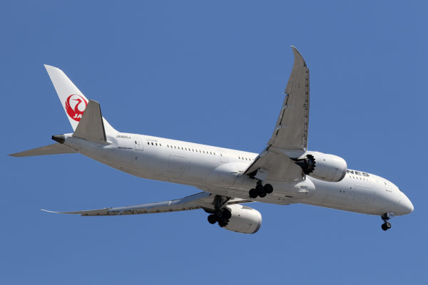 JL/JAL/日本航空 JL11 B787-9 JA865J