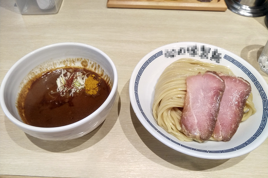 限定カレーつけ麺