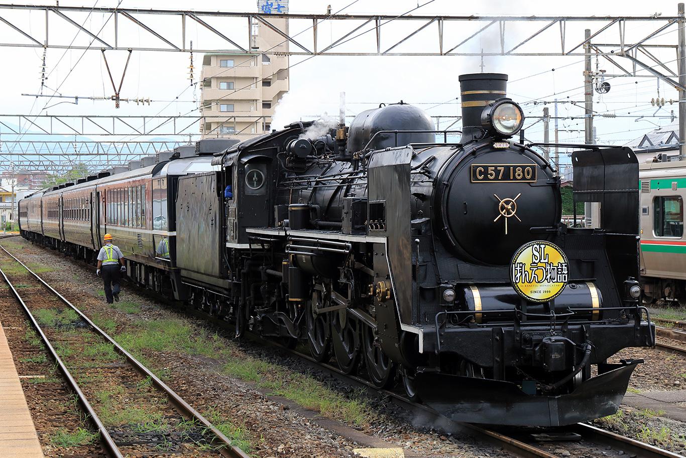 C57-180 SLばんえつ物語号