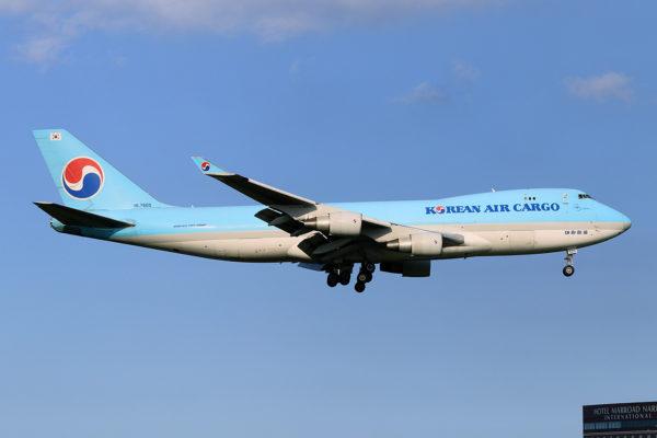 KE/KAL/大韓航空 KE551 B747-400F HL7605