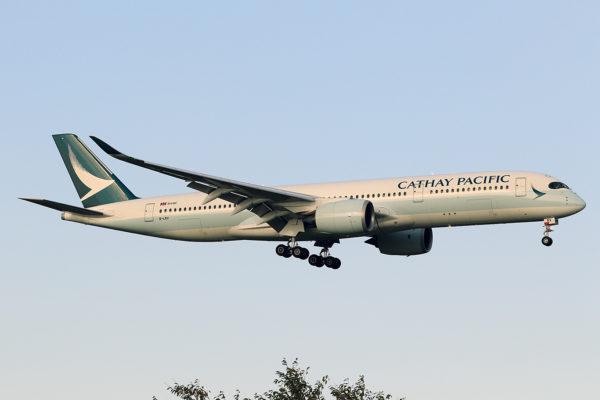 CX/CPA/キャセイパシフィック航空 CX520 A350-900 B-LRV