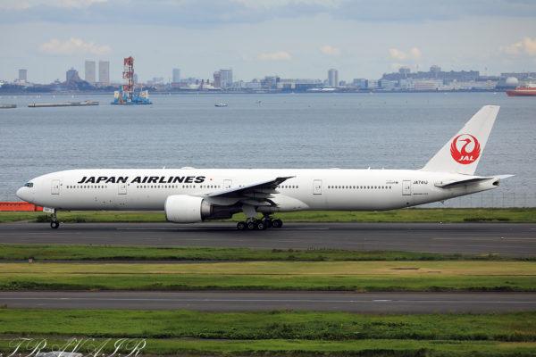 JL/JAL/日本航空 JL41 B777-300ER JA741J