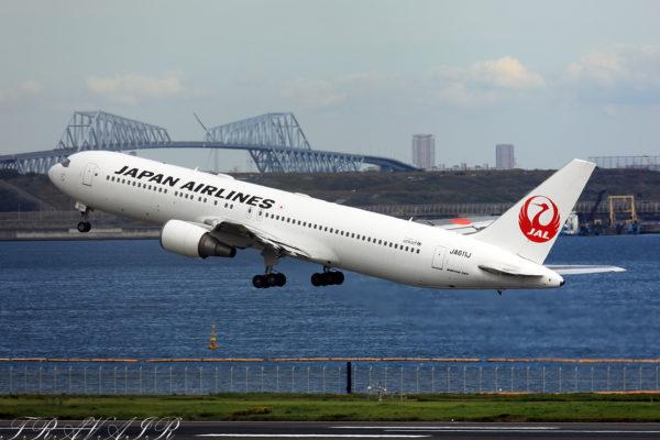 JL/JAL/日本航空 JL553 B767-300ER JA611J
