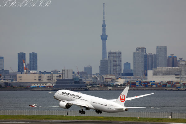 JL/JAL/日本航空 JL12 B787-9 JA861J