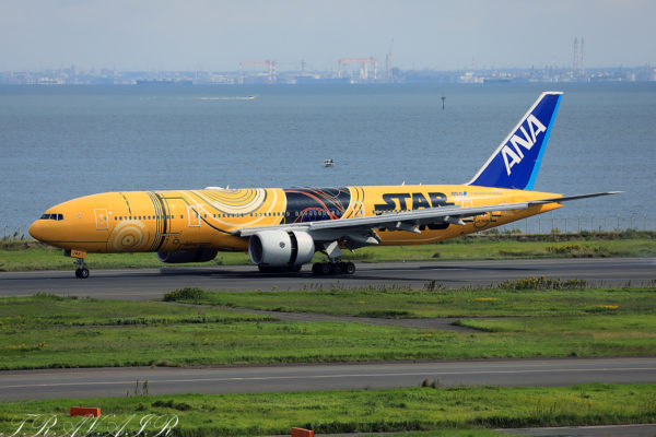 NH/ANA/全日空 NH54 B777-200ER JA743A