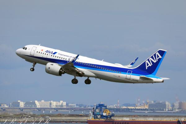 NH/ANA/全日空 NH395 A320Neo JA220A