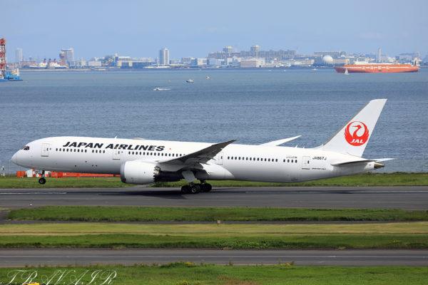 JL/JAL/日本航空 JL43 B787-9 JA867J