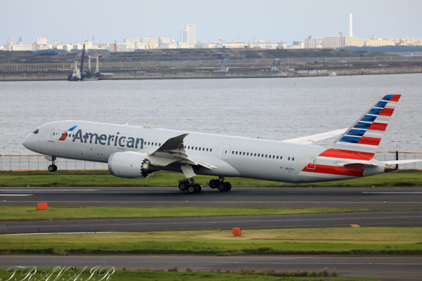 AA/AAL/アメリカン航空 AA170 B787-9 N831AA