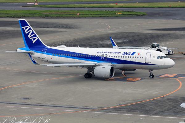 NH/ANA/全日空 NH453 A320Neo JA213A
