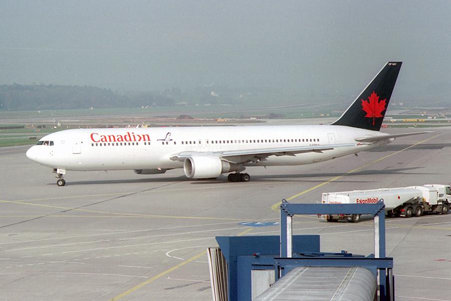 CP/CDN/カナディアン航空 C-FPCA B767-300ER