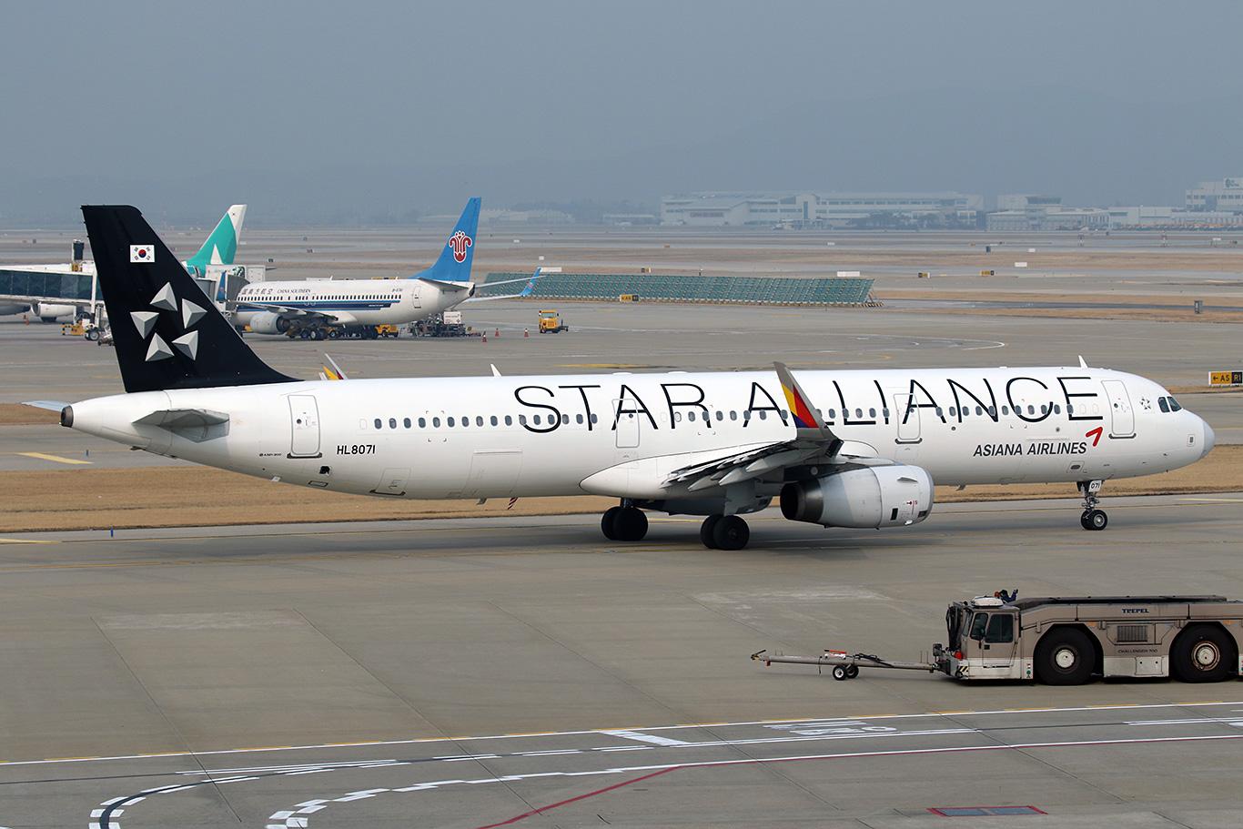 アシアナ航空A321