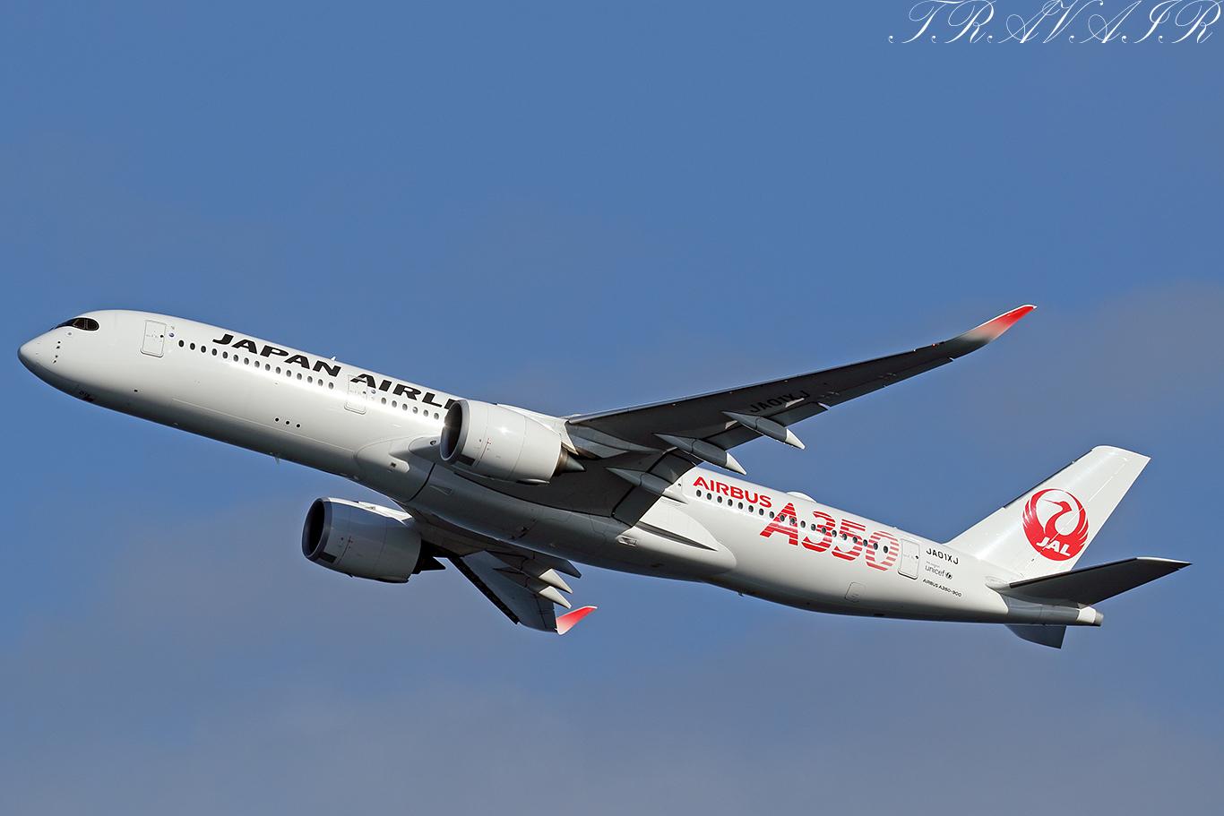 JL/JAL/日本航空 JL517 A350-900 JA01XJ