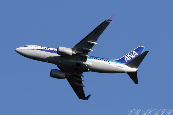 NH/ANA/全日空 NH405 B737-700 JA17AN