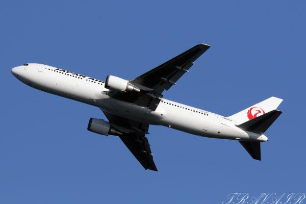 JL/JAL/日本航空 JL321 B767-300ER JA615J