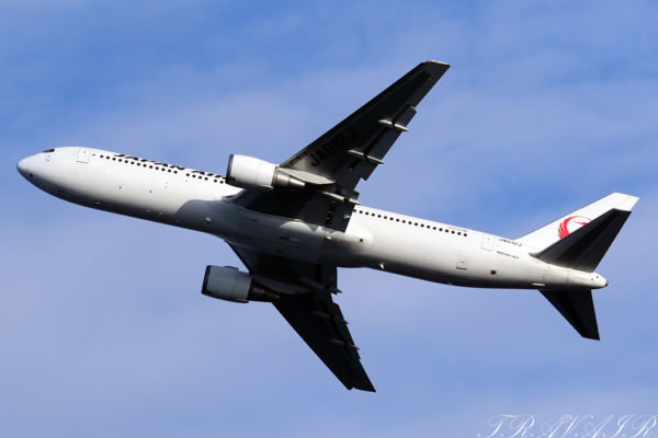 JL/JAL/日本航空 JL283 B767-300ER JA612J