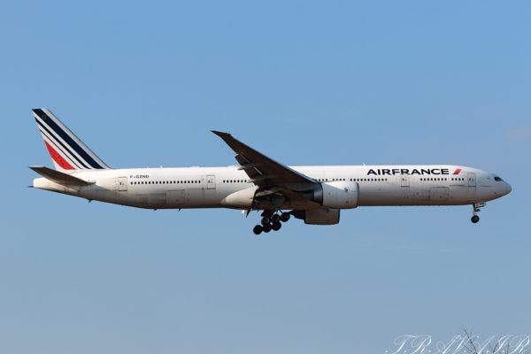 AF/AFR/エールフランス AF276 B777-300ER F-GZND