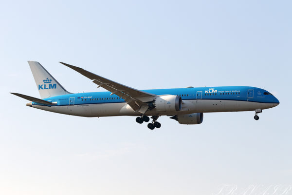 KL/KLM/KLMオランダ航空 KL861 B787-9 PH-BHP