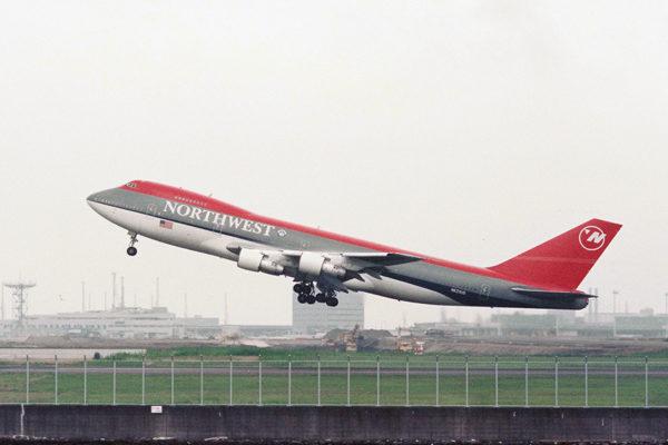 NW/NWA/ノースウェスト航空 N633US B747-200