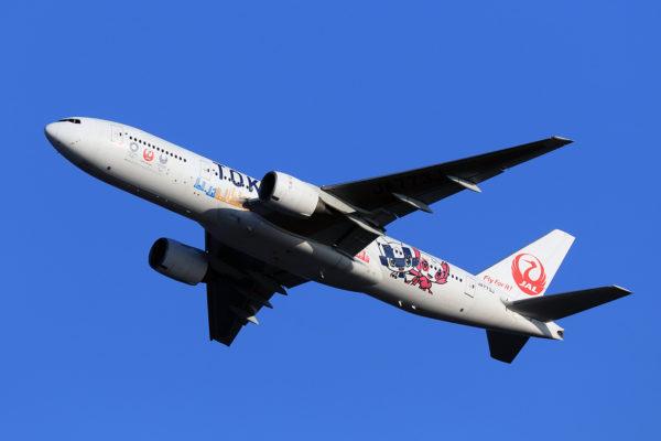 JL/JAL/日本航空 JL323 B777-200 JA773J