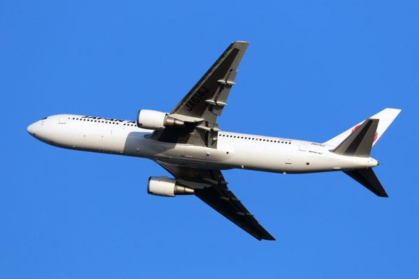JL/JAL/日本航空 JL523 B767-300ER JA614J