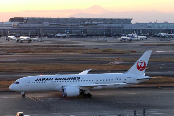 JL/JAL/日本航空 JL127 B787-8 JA846J