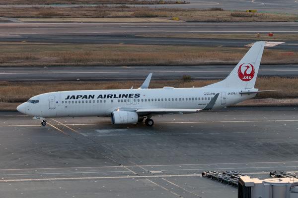 JL/JAL/日本航空 JL219 B737-800 JA308J