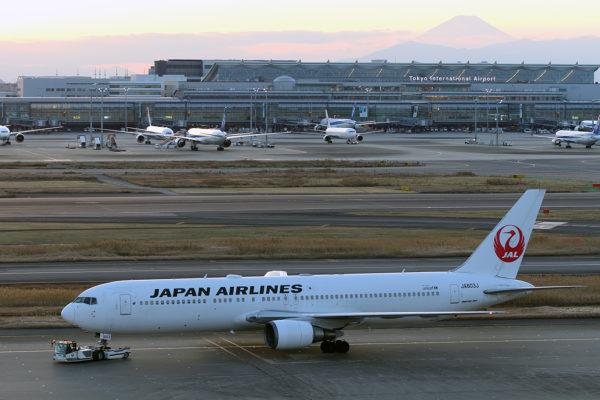 JL/JAL/日本航空 TAXI B767-300ER JA603J