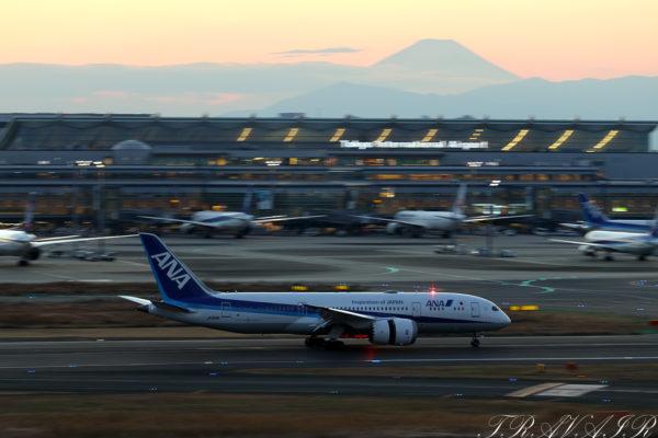NH/ANA/全日空 NH626 B787-8 JA819A