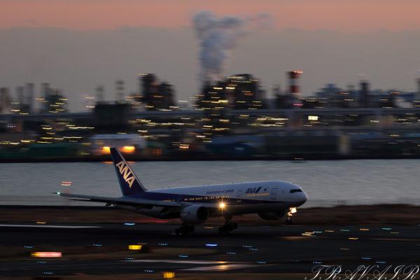 NH/ANA/全日空 NH258 B777-200 JA705A