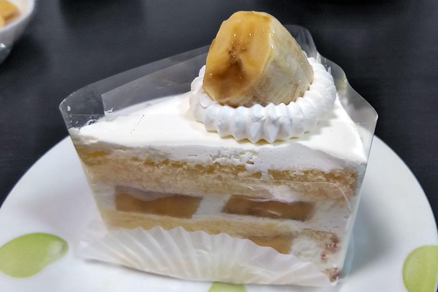 BANANA FACTORYのバナナショートケーキ
